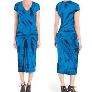 Young Fabulous & Broke Araya Tie Dye Midi Dress
